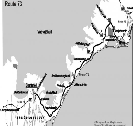 Iceland Route 73