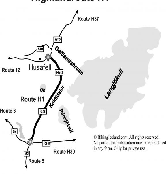 Hochlandroute Island H1