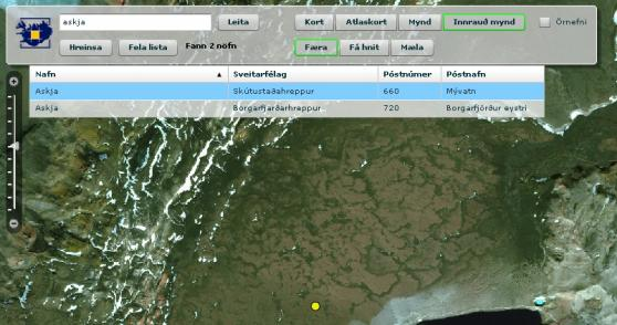 Screenshot lmi Map